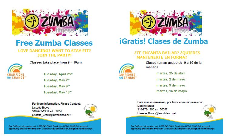Parent Zumba Classes