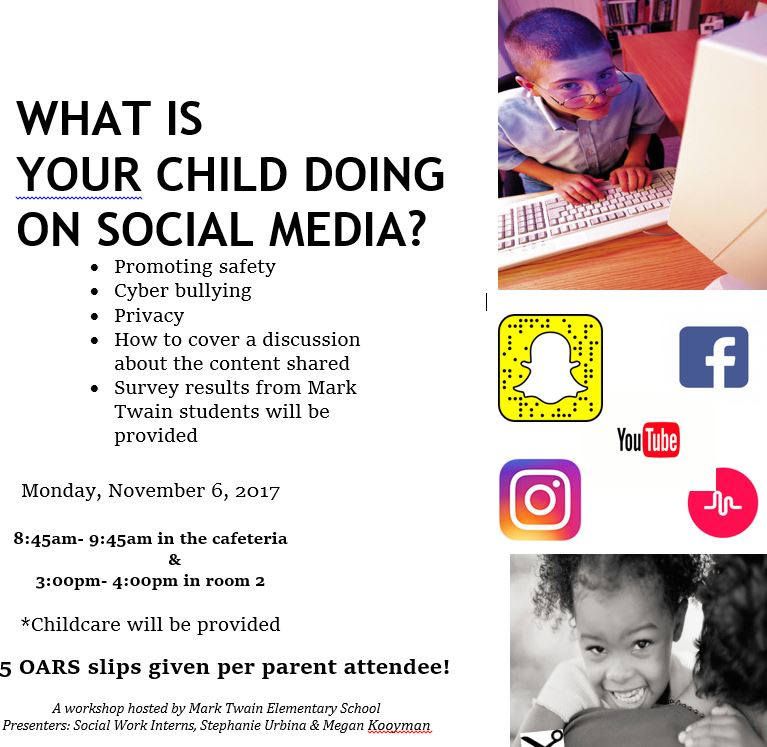 Social Media Parent Workshop