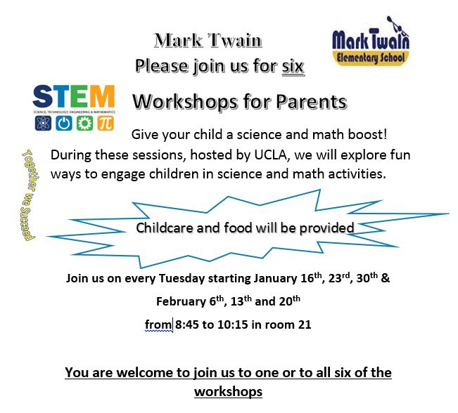 Parent STEM Workshops