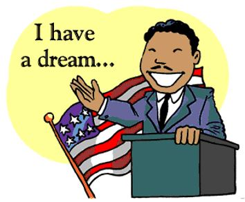 Martin Luther King Jr. Speech Writing Contest - Sponsored by Mark Twain PTA